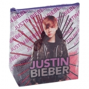 Justin Bieber 'I Love' School Cosmetic Pouch