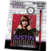Justin Bieber 'Secret Diary with Pencil' Secret Stationery