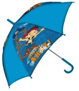 Disney Jake and The Neverland Pirates Manual School Rain Brolly Umbrella