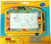 Disney Jake and The Never Land Pirates Mini Magnetic Magic Scribbler Stationery
