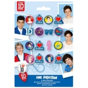 One Direction Mini Eraser Stationery