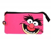 The Muppets 3 Pocket Pencil Case Stationery
