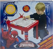 Marvel Ultimate Spiderman Colouring Table Stationery