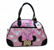 Disney Minnie Mouse Girls Holdall Overnight Travel Bowling School Shoulder Bag