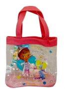 Disney Doc Mcstuffins See Through Pvc Tote Bag Shopping Shopper