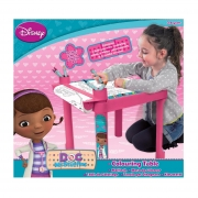 Disney Doc Mcstuffins Colouring Table Stationery