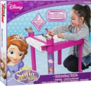 Disney Sofia The First Colouring Table Stationery