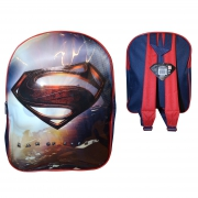 Superman 'Man of Steel Junior' School Bag Rucksack Backpack