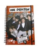 One Direction A4 Deluxe Spiral Notebook Stationery