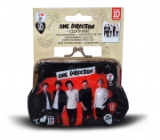 One Direction Red 'Kisslock' Purse
