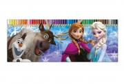 Disney Frozen Elsa Anna '50 Piece' Colouring Pencils Tin Case Stationery