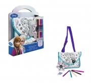 Disney Frozen 'Colour Your Own Bag' School Shoulder Bag