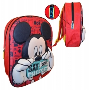 Disney Mickey Mouse Eva 3d Junior School Bag Rucksack Backpack