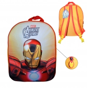 Marvel Avengers Assenble 'Iron Man' 3d Eva School Bag Rucksack Backpack