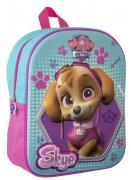 Nickelodeon Paw Patrol 3d Eva Girls Junior School Bag Rucksack Backpack