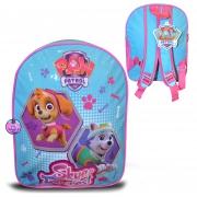 Nickelodeon Paw Patrol Girls Junior School Bag Rucksack Backpack