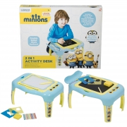 Minions 2 In 1 Activity Desk Stationery