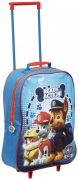 Paw Patrol Boys 'Ready For Action' School Travel Trolley Roller Wheeled Bag