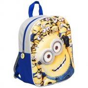 Minions 'Gang' Boys Junior 3d Eva School Bag Rucksack Backpack