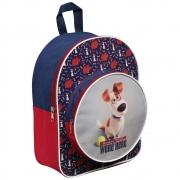 Secret Life of Pets 'Max' Junior Round Pocket School Bag Rucksack Backpack
