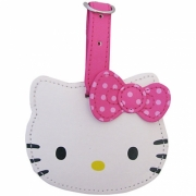 Hello Kitty 'Classic' Head Shaped School Luggage Tag