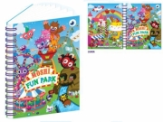 Moshi Monsters 'Fun Park' A5 Notebook Stationery