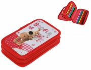 Boofle Double Tier Filled Pencil Case Stationery