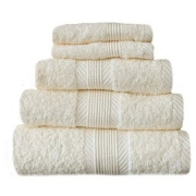 Towel Catherine Lansfield Home 450gsm Cream Plain Face