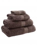 Towel Range Egyptian 550gsm Chocolate Plain Face