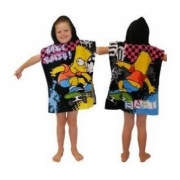The Simpsons - Bart Rules Poncho Towel