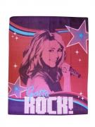 Disney Hannah Montana Gotta Rock Panel Fleece Blanket Throw