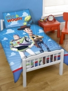 Disney Toy Story Infinity Panel Junior Cot Bed Duvet Quilt Cover Set