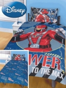 Power Rangers Fierce Panel Single Bed Duvet Quilt Cover Set