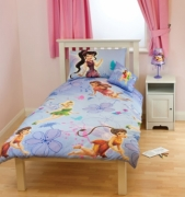 Disney Fairies Tinkerbell Rotary Single Bed Duvet Quilt Cover Set