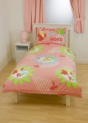3rd and Bird Tweet Rotary Single Bed Duvet Quilt Cover Set
