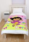 Dora The Explorer Play Panel Fleece Blanket Throw
