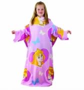 Disney Princess Cosy Wrap Blanket Sleeved Fleece