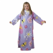 Ben and Holly Little Kingdom Cosy Wrap Blanket Sleeved Fleece