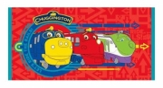 Chuggington 'Traintastic' Printed Beach Towel