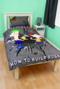 Phineas & Ferb 'Agent' Panel Single Bed Duvet Quilt Cover Set
