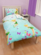 Disney Fairies 'Imagine' Rotary Single Bed Duvet Quilt Cover Set