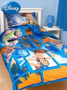 Disney Toy Story 'Fractal' Rotary Single Bed Duvet Quilt Cover Set