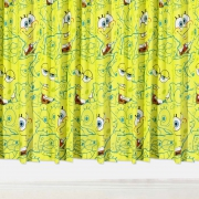 Spongebob Squarepants 66 X 72 inch Drop Curtain Pair