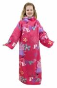 Peppa Pig 'Adorable' Cosy Wrap Blanket Sleeved Fleece