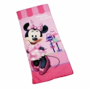 Disney Minnie Mouse 'Pretty' Sleeping Bag Camping Travel Sleepover Sac