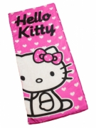 Hello Kitty 'Hearts' Sleeping Bag Camping Travel Sleepover Sac