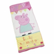 Peppa Pig 'Cupcake' Sleeping Bag Camping Travel Sleepover Sac
