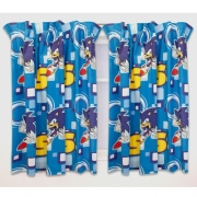 Sonic The Hedgehog 'Spin' 66 X 72 inch Drop Curtain Pair