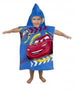 Disney Cars 'Spy' Poncho Towel