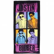 Justin Bieber 'Autograph' Printed Beach Towel